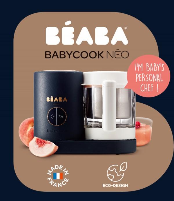BEABA婴儿多功能蒸煮搅拌一体机    全新变频蒸煮·温和蒸汽营养高保留