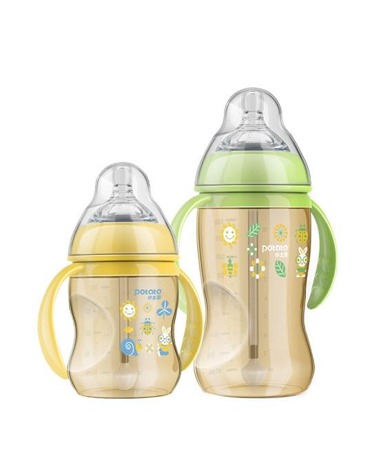 小土豆PPSU奶瓶材质安全·持久耐用 给宝宝健康安全的喂养
