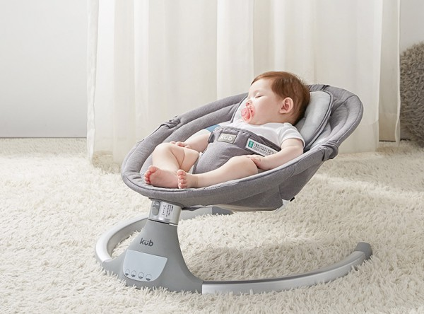 KUB可优比婴儿电动摇摇椅床    智能摇椅·仿生摇晃解放妈妈的双手