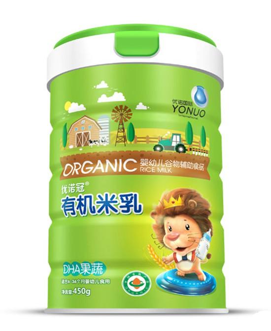 婴幼儿选择辅食的原则有哪些  优诺冠有机米乳营养·更健康