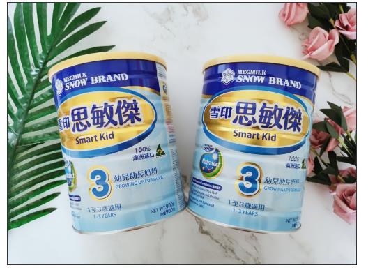 宝宝转奶选什么奶粉好?3段雪印奶粉 三维度呵护宝宝健康成长