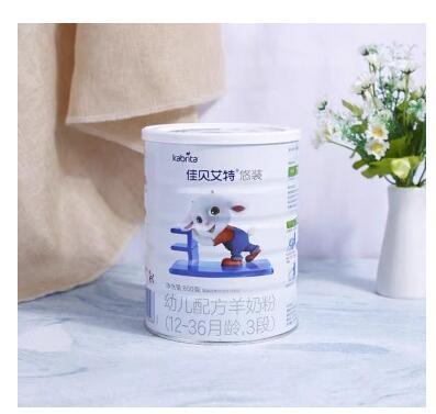佳贝艾特悠装系列羊奶粉  双益组合特色配方·守护宝宝肠道健康