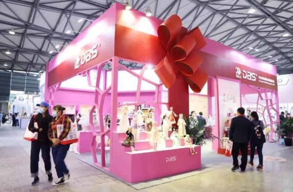 广东这家DBS玩具公司在中国国际玩具(上海)展火了!