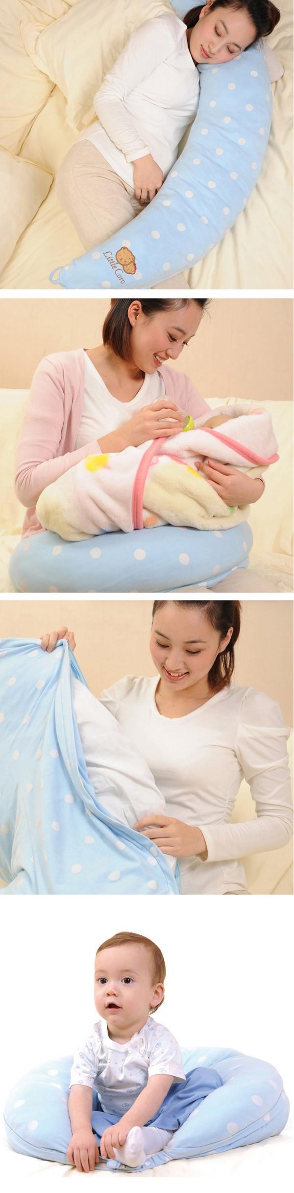 贝亲多功能哺乳枕    哺乳新招式·解放妈妈的双手