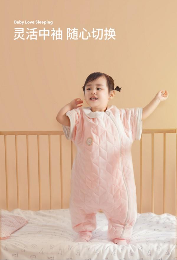 良良宝宝纯棉纱布加厚分腿睡袋   锁住温暖无束缚·解放陪睡妈妈