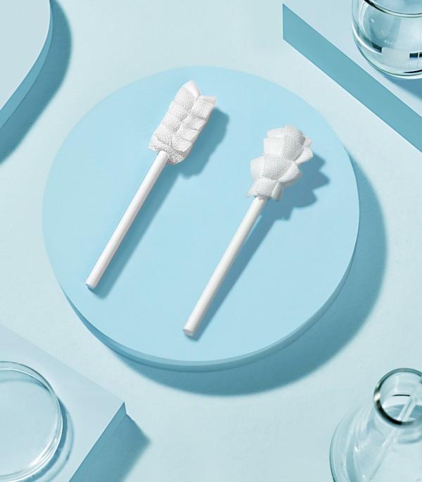 babycare婴儿口腔清洁纱布    3D波浪立体刷头·清洁到位无残留