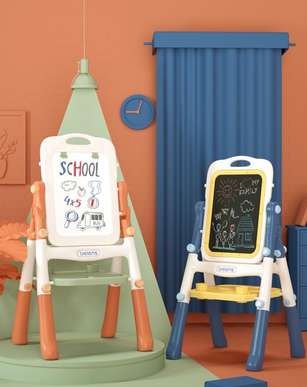 貝恩施兒童雙面磁支架式畫板   讓孩子在繪畫中認識世界·學習知識
