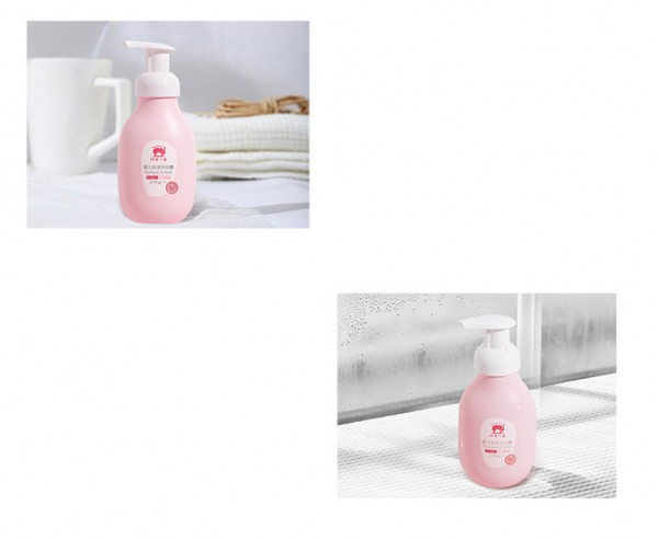 红色小象婴儿洗发沐浴露二合一    解决沐浴烦恼·让宝宝爱上洗澡