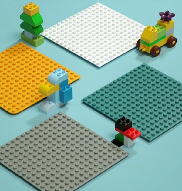 儿童益智拼装大颗粒积木  早教游戏桌就选萌宝宝