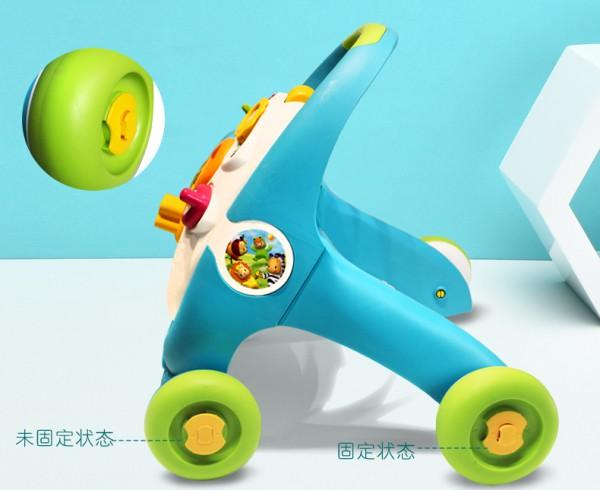 SMOBY智比嬰兒多功能學步推車     啟智學步雙模式·讓寶寶輕松學走路