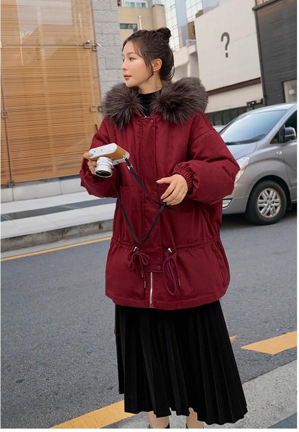 朵惠图加绒派克孕妇羽绒棉服   简单利落·享受美丽的小幸福