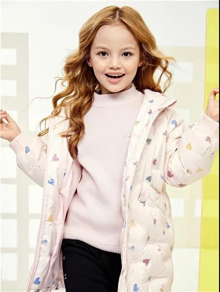 JOJOBO啾比乐童装羽绒服 时尚保暖 让孩子在冬日里绽放美丽自信