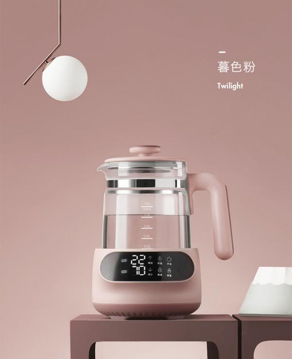 babycare恒温热水壶调奶器     精准控温每1°C·做宝宝的专属营养师