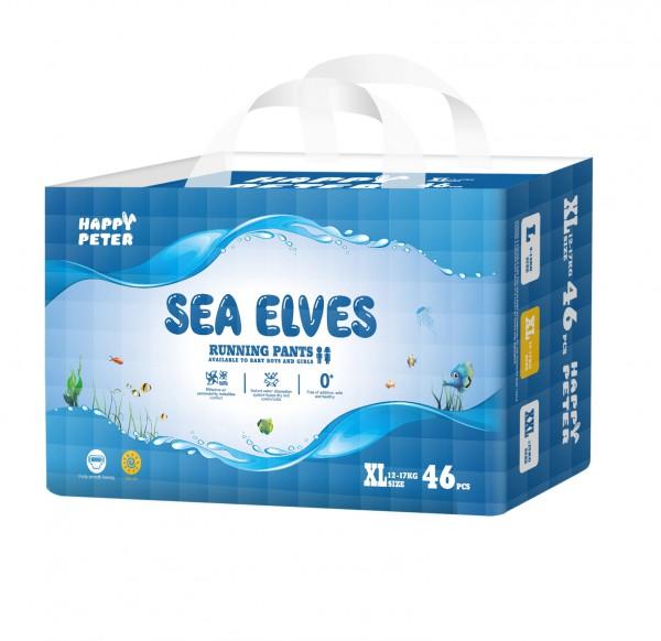海精灵纸尿裤  弱酸性真丝面层给予宝宝最好的呵护