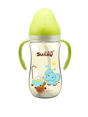 小太陽時尚印花PPSU奶瓶   防脹氣,超級柔軟