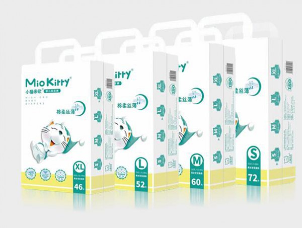 小猫米欧纸尿裤品牌新签5家经销商   高端婴儿纸尿裤更受市场青睐