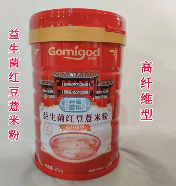高美高益生菌红豆薏米粉口感纯正好消化 宝宝更爱吃