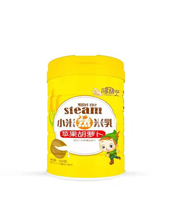 哆精灵小米蒸米乳营养均衡易吸收 关爱宝宝辅食健康