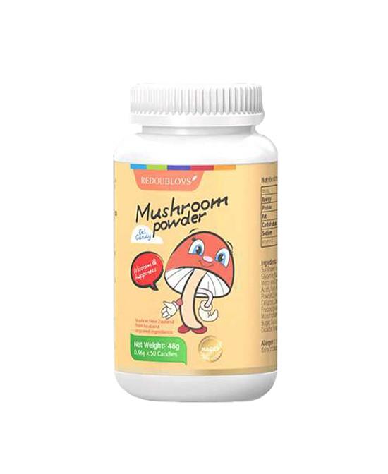 瑞思善蘑菇粉凝胶糖果 以丰富维生素D为成长健康加油助力