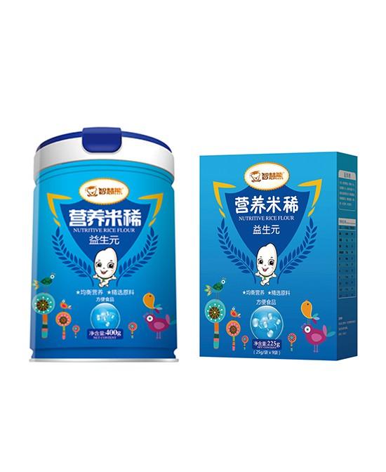 智慧熊营养米稀系列产品  呵护宝宝肠道健康好营养·好吸收