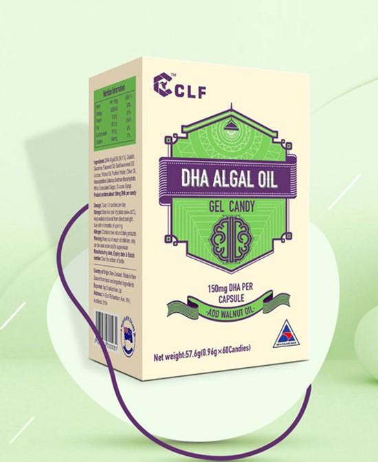 柯洛芙DHA藻油凝胶糖果 高纯度DHA 助力儿童智力发展
