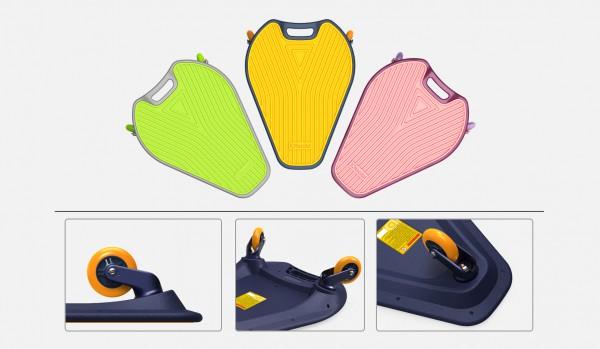 6-13岁专属设计滑板——IDbabi鱼游板  多款颜色让孩子玩嗨全场
