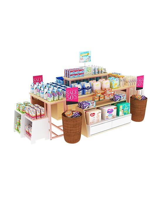母婴店货架作用以及功能  展正货架为你揭秘母婴店货架重要性