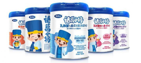 完達山諸葛小將系列兒童奶粉    全方面助力兒童成長發育