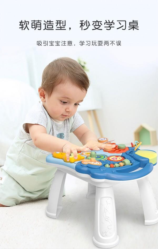 知识花园婴儿学步手推车 学步玩乐两不误 宝宝学步时期贴心伴侣