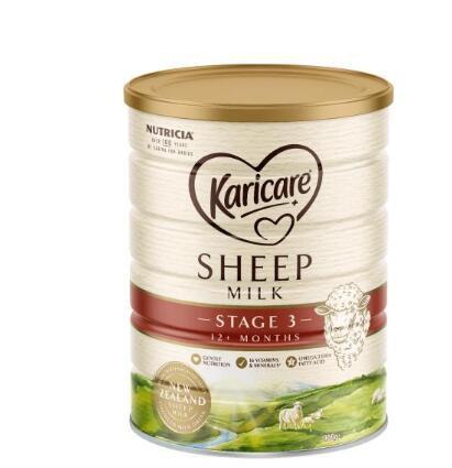 高端奶粉怎么选   Karicare可瑞康绵羊奶粉给宝宝带来纯粹的营养