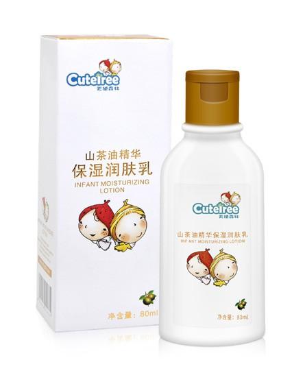 天使森林山茶油精华保湿乳 山茶油呵护 给宝宝幼嫩肌妈妈般的宠爱
