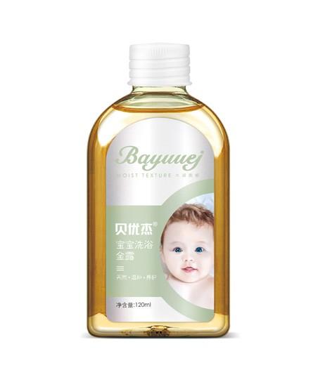 贝优杰宝宝洗浴金露 温和舒爽 温柔呵护宝宝幼嫩敏感肌