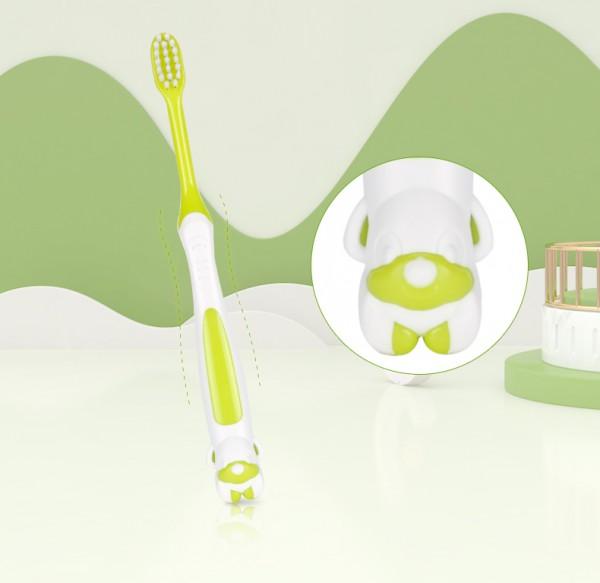 青蛙王子儿童软毛牙刷   护龈洁齿保护宝宝口腔健康