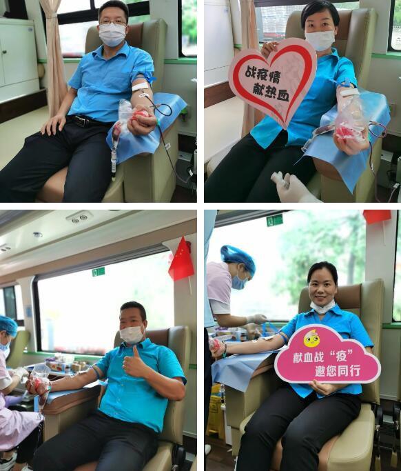 无偿献血,为生命加油——广州美素力组织员工开展无偿献血活动