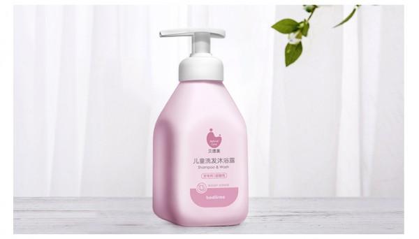 贝德美儿童洗发沐浴二合一   4合1全能·迅速舒缓宝宝浴后干痒不适