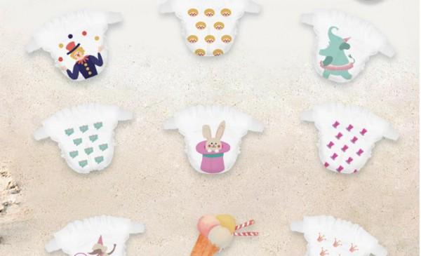 卫神奇幻马戏城系列纸尿裤 超薄当道 引领夏日风范