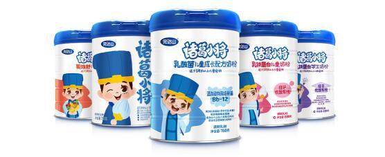 完达山诸葛小将系列儿童奶粉   为儿童成长提供了专业的营养呵护