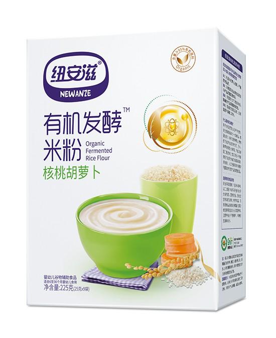 纽安滋有机发酵米粉 天然营养 宝宝辅食米乳的放心之选