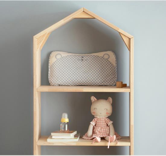 良良婴幼儿定型枕 科学护型 柔滑细腻 陪伴宝宝尽享整夜金质睡眠