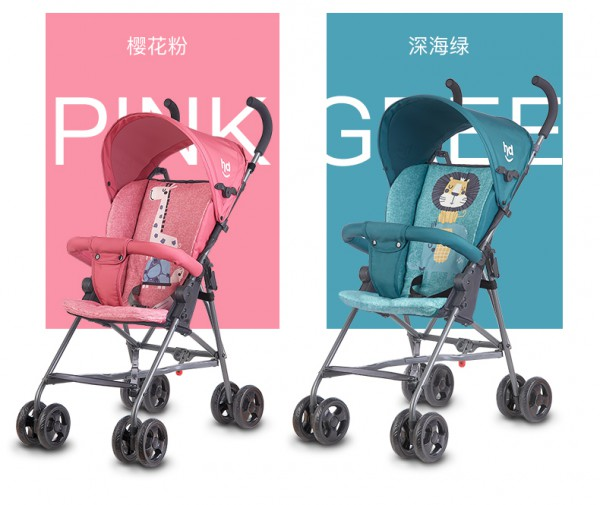 婴儿手推车怎么选?小龙哈彼婴儿手推车 四季可用 便携易带 陪伴妈妈随心出行