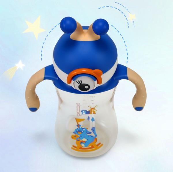 bobo乐儿宝婴儿学饮杯   一瓶两用可变奶瓶·360度喝水