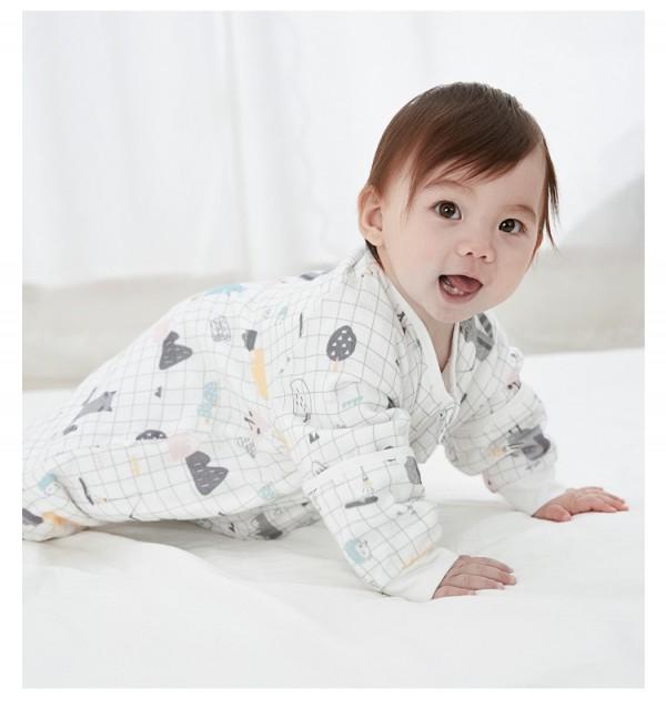 威尔贝鲁婴儿睡袋防踢被     前四后二·护肚透气不闷热