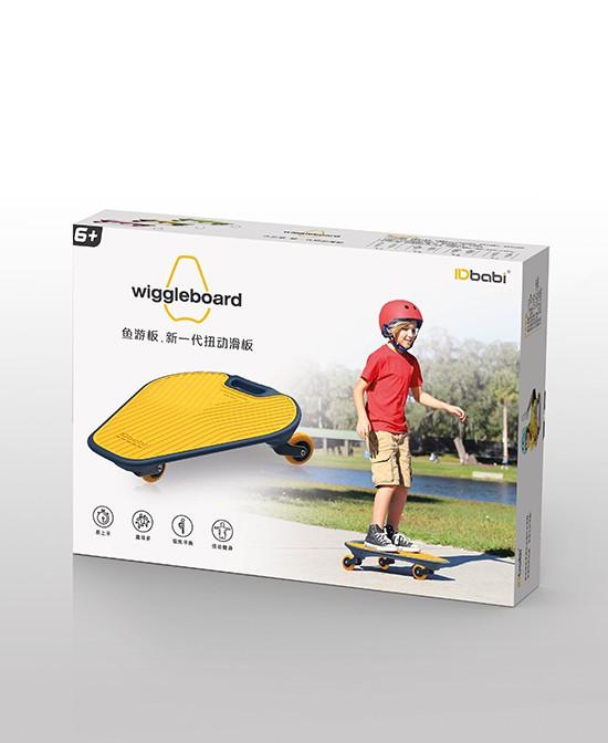 IDbabi(魚游板)專為6-13歲兒童設計 扭動滑行 解鎖滑行新玩法