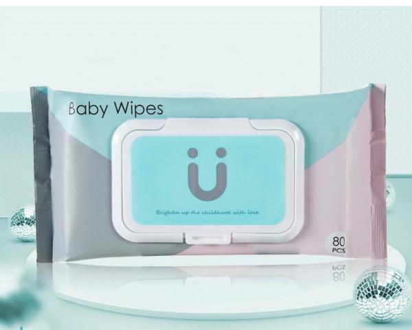 可优比婴儿手口专用湿巾纸   五大营养配方见证宝宝健康成长