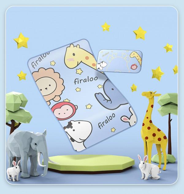 firaloo菲拉洛新生宝宝婴儿床凉席水洗  升级600D冰丝席2.0 透气舒适光滑柔软可机洗