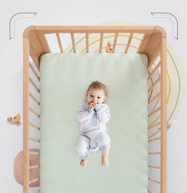 巴布豆婴儿多功能实木拼接床N+1种使用场景不闲置      记录宝宝独立成长每一步