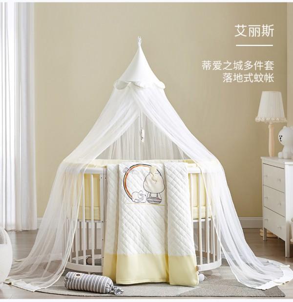 蒂爱多功能婴儿拼接床    仿生学圆床·开启宝宝优质睡眠第一步