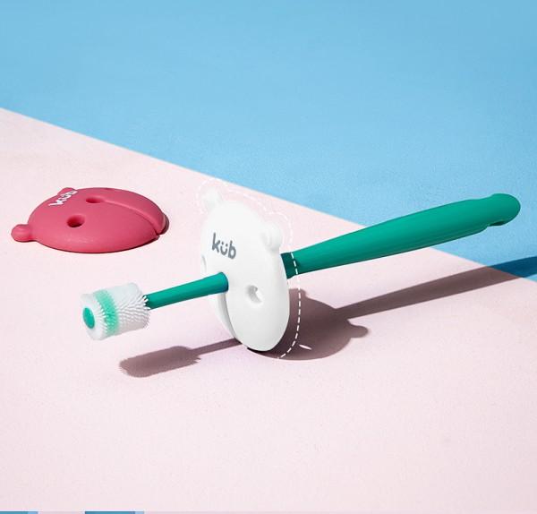 KUB可优比超细软毛儿童乳牙刷    纳米抗菌·360度清洁全方位清洁