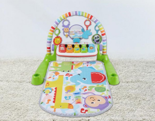 费雪豪华琴琴健身器+海马组合   健身+安抚的婴儿玩具你喜欢吗