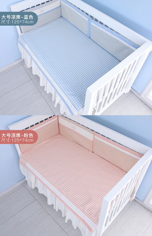 幼儿园开学了选什么凉席好    良良宝宝幼儿园苎麻凉席    26°C会呼吸的好凉席·凉而不冰